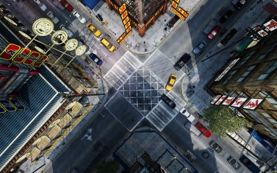 CGI, Intersections, Top View, Grand Theft Auto IV, Birds Eye View Wallpapers HD / Desktop and ...