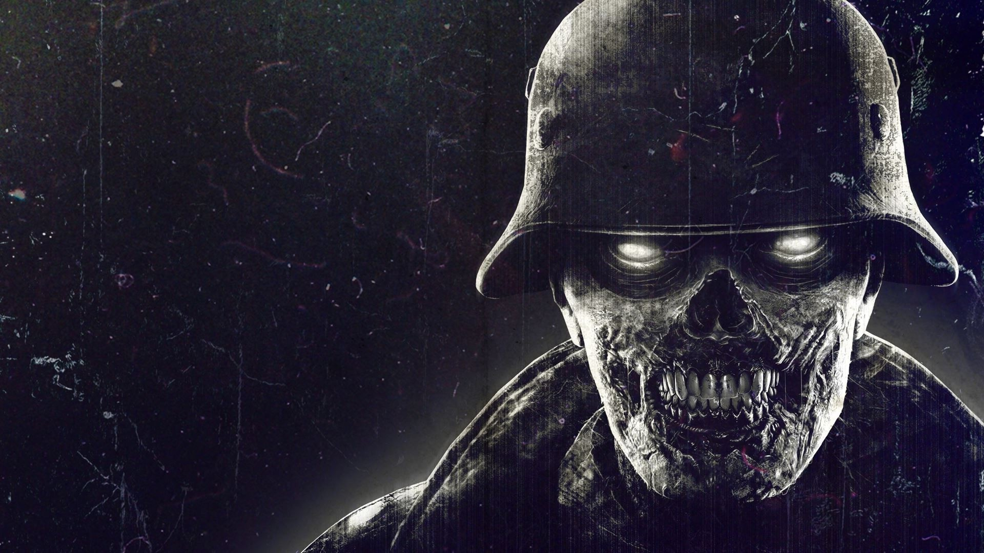 Cool 3d Skull Wallpapers Zombies Video Games Nazi Wallpapers Hd Desktop And
