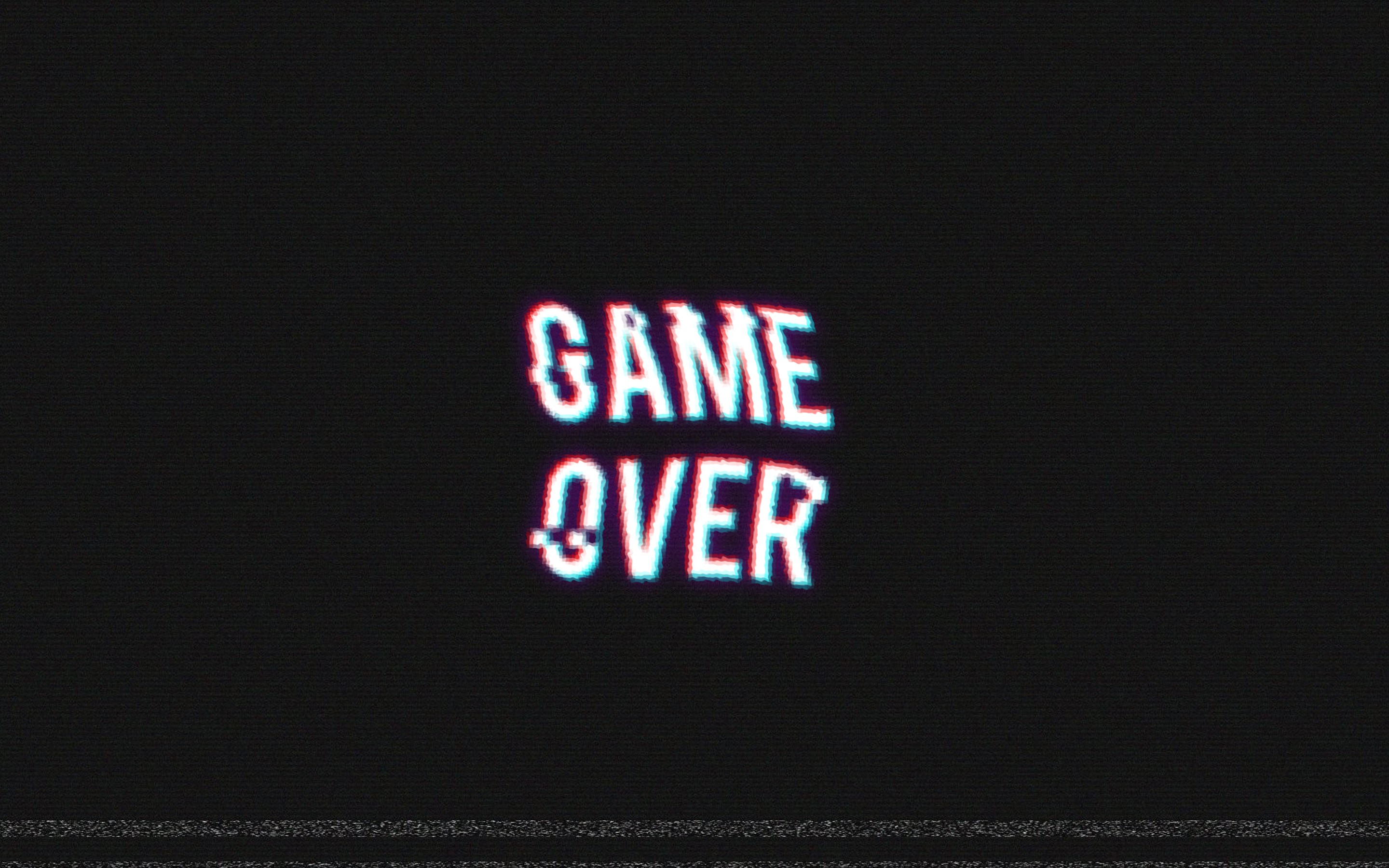 Pacman Wallpaper Iphone X Game Over Video Games Retro Games Distortion Wallpapers