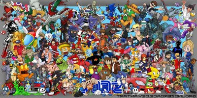 Sega, Video Games, Crossover Wallpapers HD / Desktop and Mobile Backgrounds