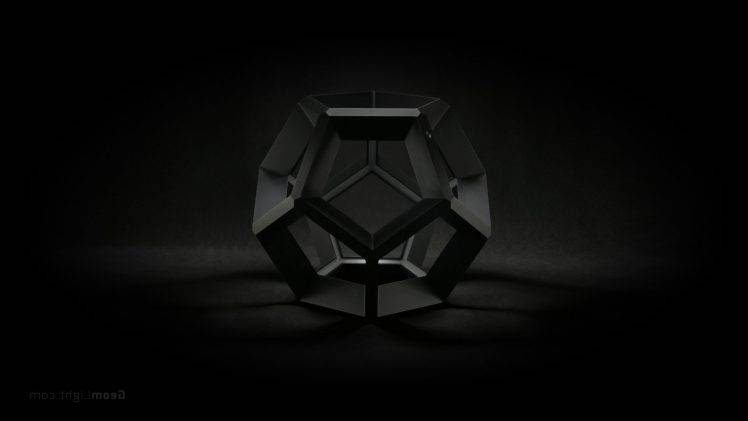 geometry, Lamps, Interior Design, Photography, Black Background