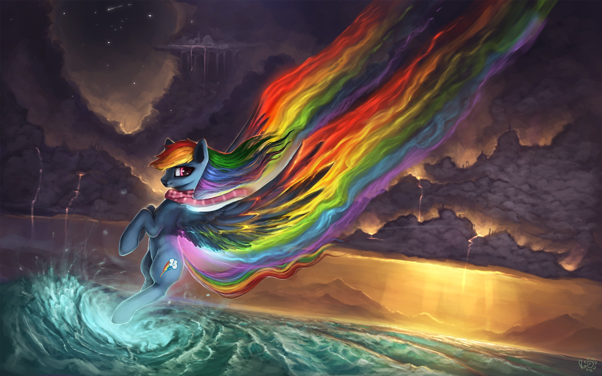 Creature 3d Movie Wallpaper Download My Little Pony Artwork Digital Art Rainbows Wallpapers