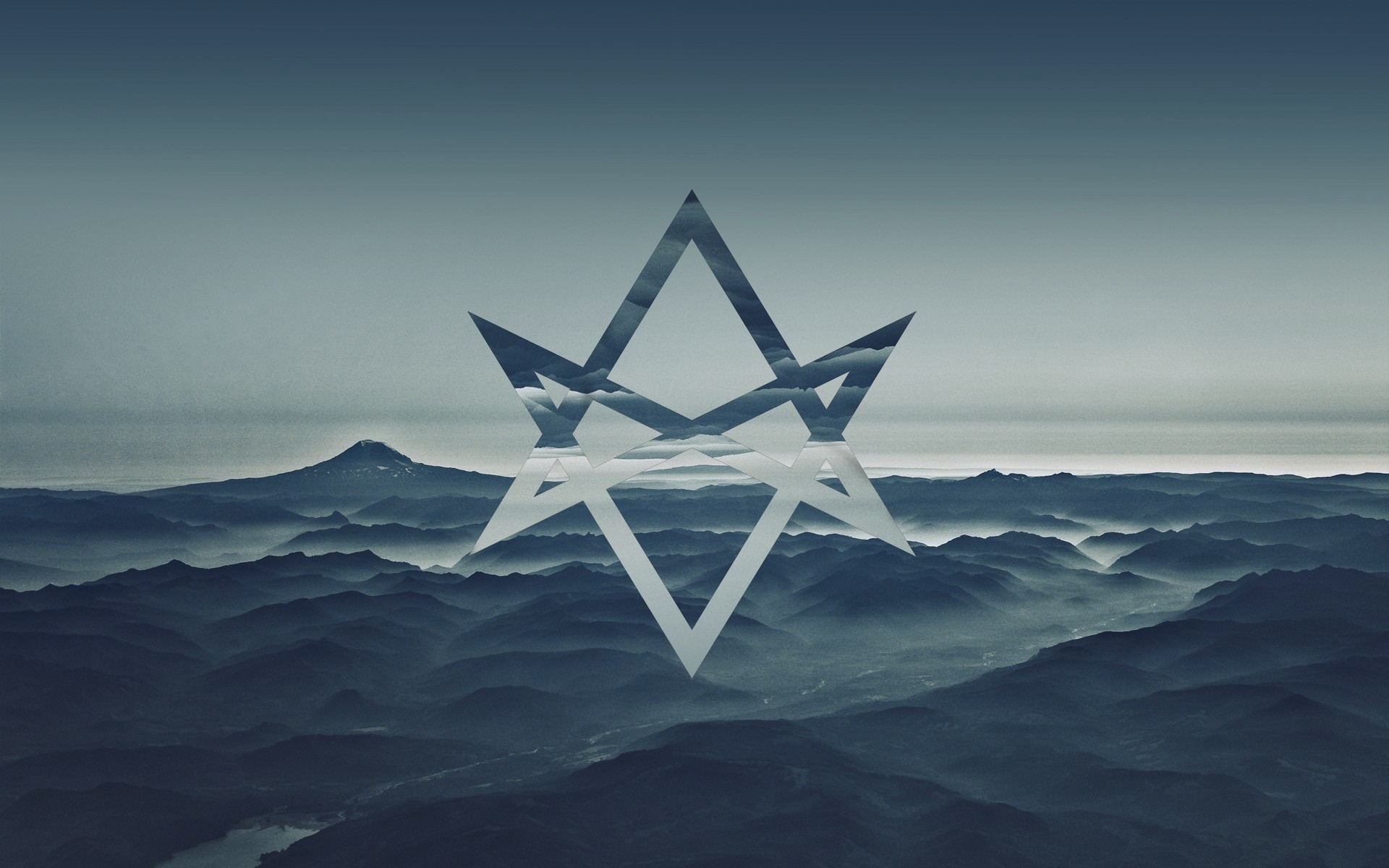 Cool Cars Wallpaper For Mobile Thelema Unicursal Hexagram Sea Blue Sky Abstract