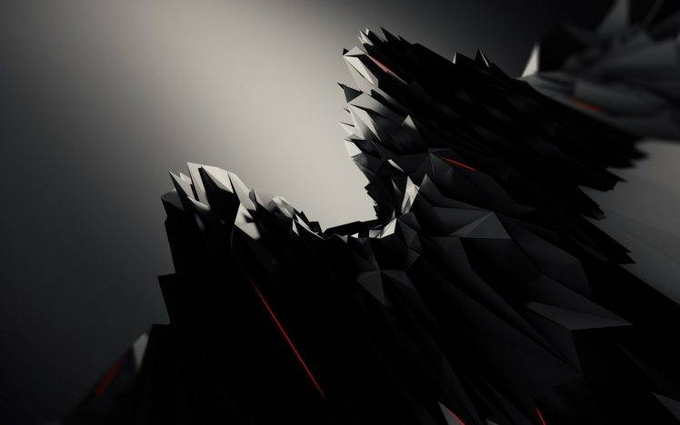 abstract, Black, Graphic Design Wallpapers HD / Desktop and Mobile