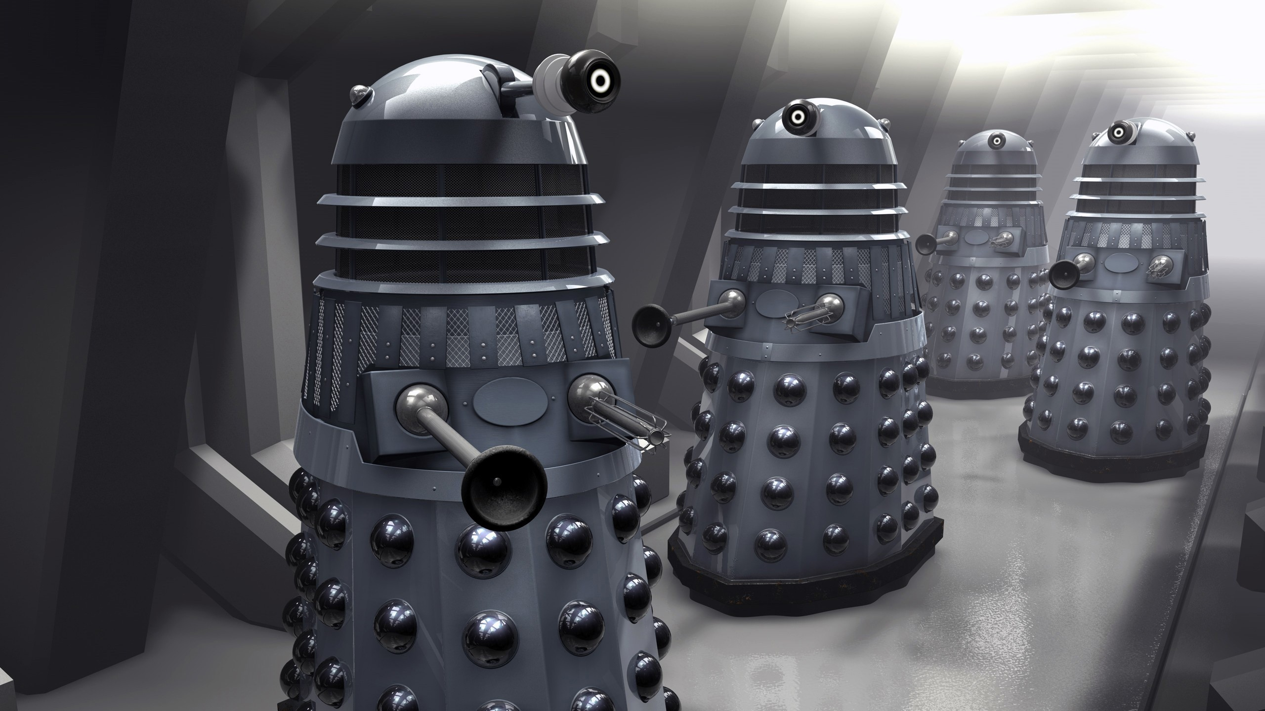 Supreme 3d Wallpaper Doctor Who The Doctor Daleks Wallpapers Hd Desktop And