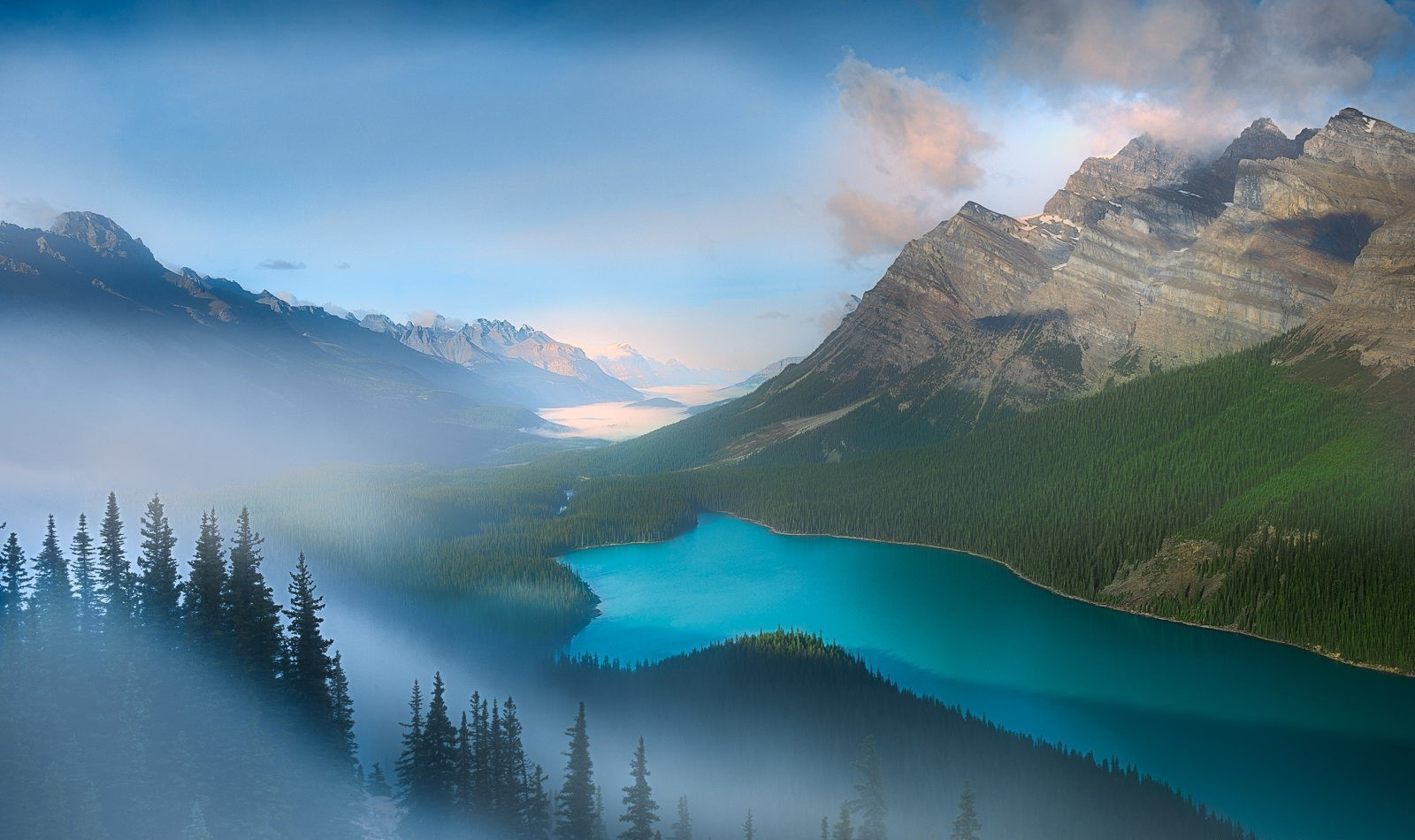 I Letter 3d Wallpapers Nature Photography Landscape Lake Mountains Forest