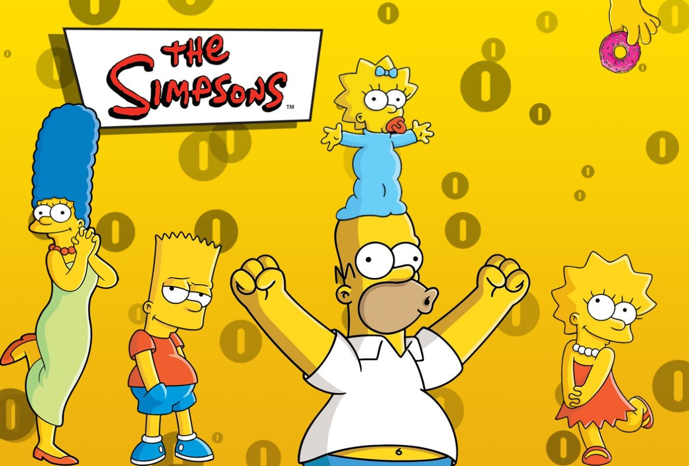 Rolling Girls Wallpaper 1920 The Simpsons Marge Simpson Bart Simpson Maggie Simpson