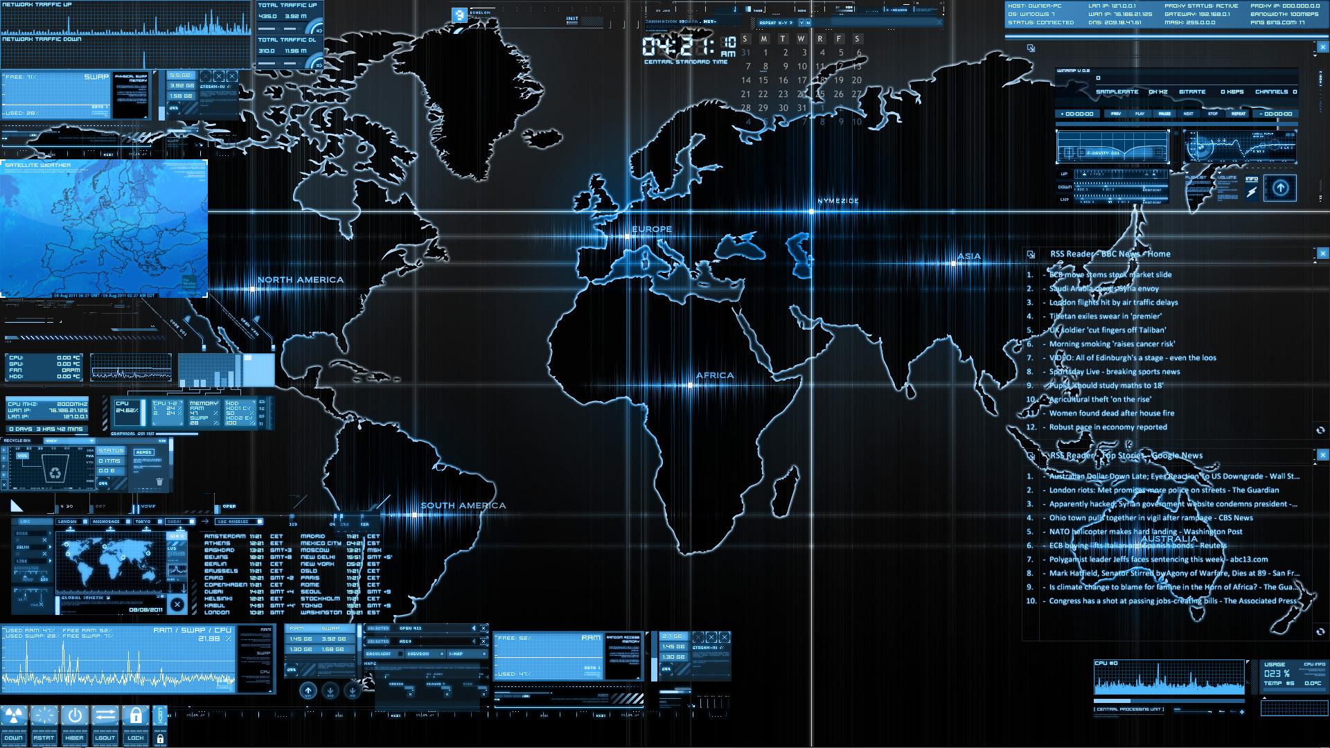 Alienware Logo Hd Wallpaper Conky Wallpapers Hd Desktop And Mobile Backgrounds