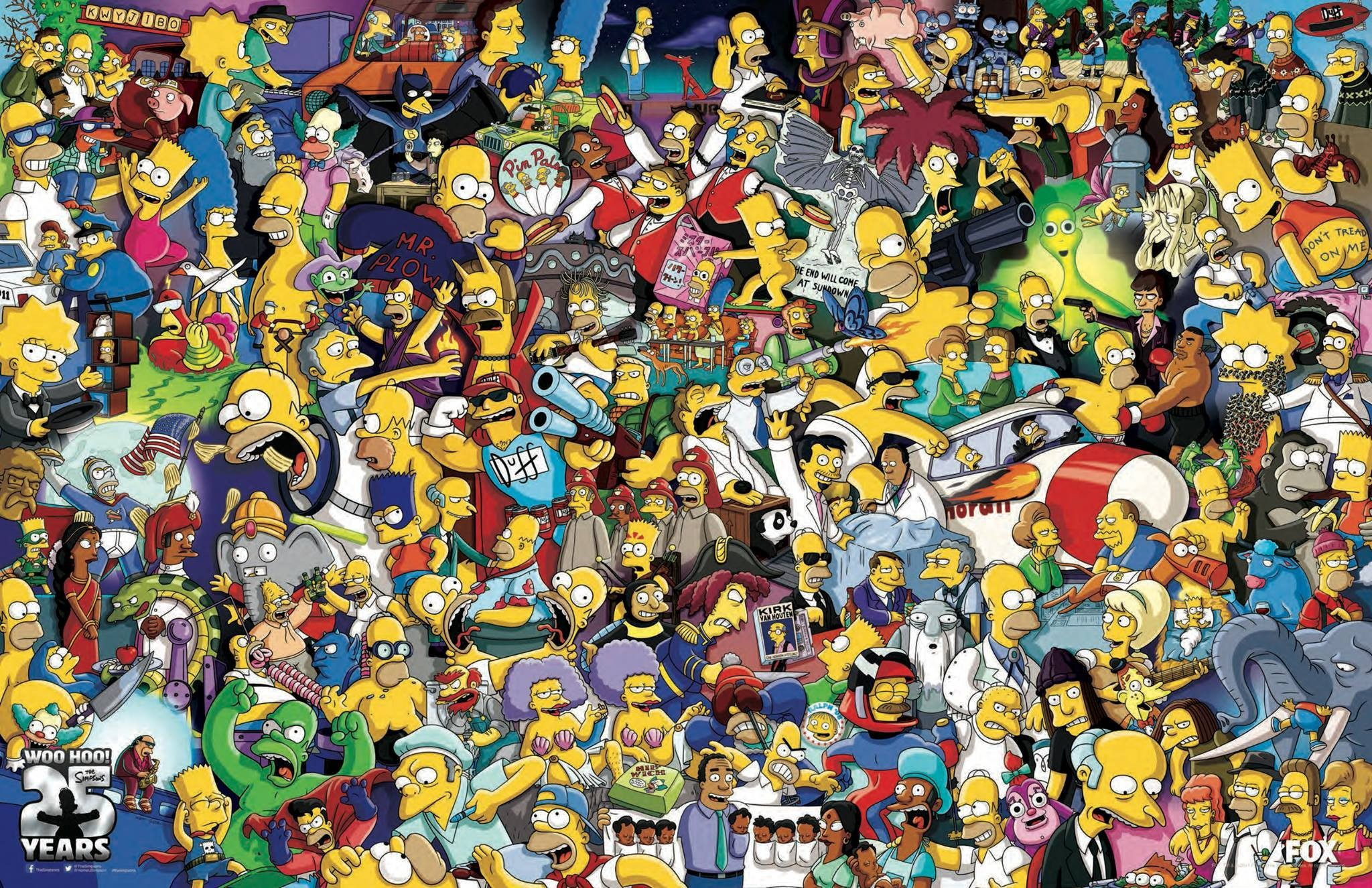 The Simpsons 3d Wallpaper The Simpsons Homer Simpson Bart Simpson Wallpapers Hd