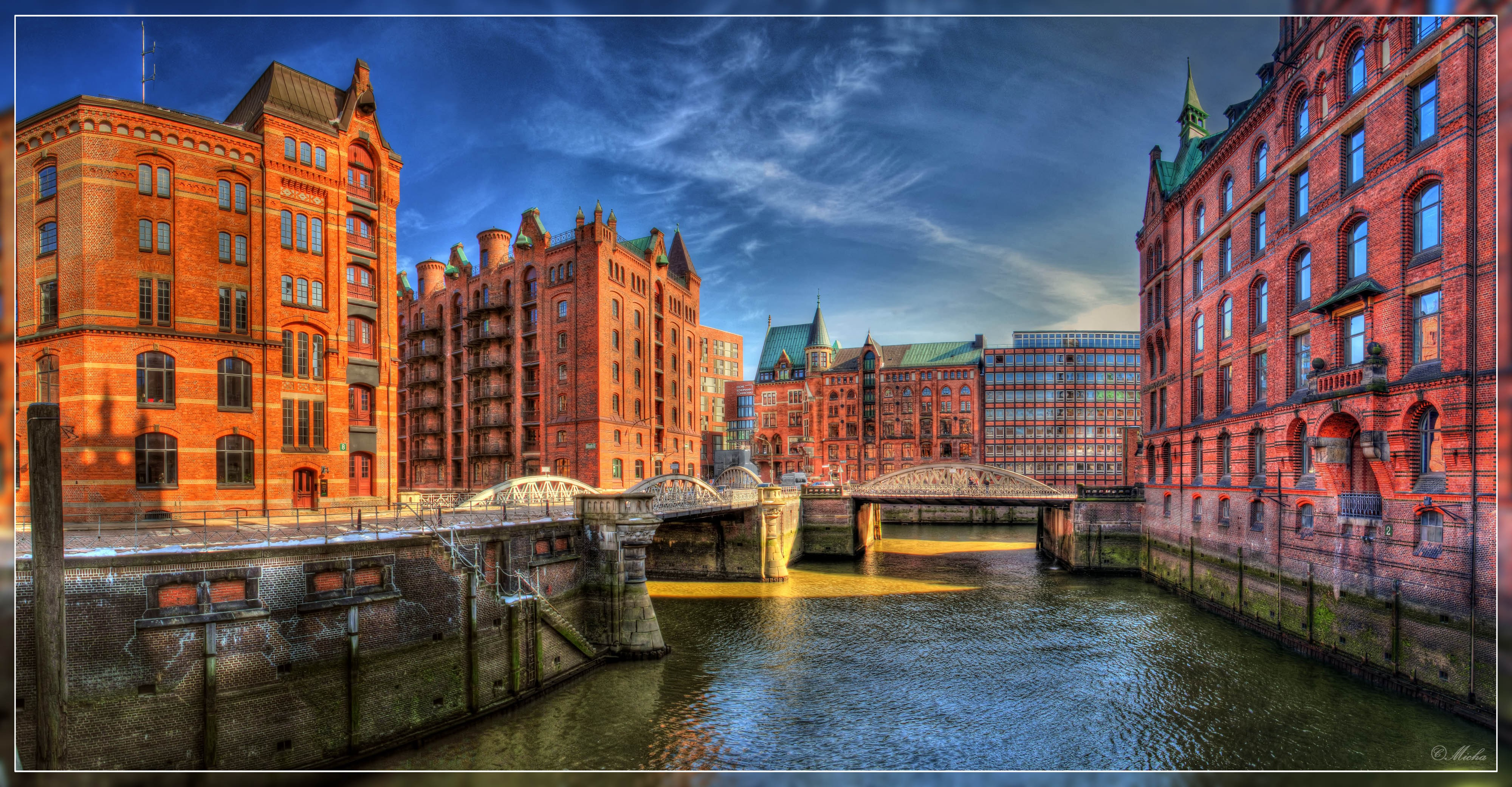 Ameron Speicherstadt Hamburg Hamburg, Germany, City, Canal Wallpapers Hd / Desktop And