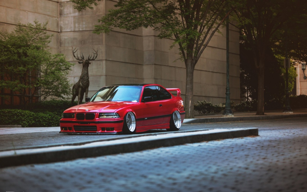 3d Car Wallpaper For Desktop Download Car Bmw E36 Stance Tuning Lowered German Cars Street