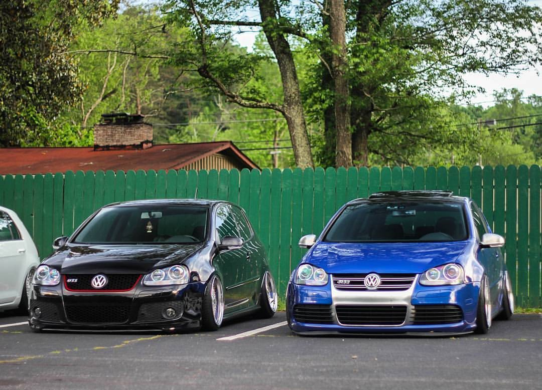 3d Golf Wallpaper For The Home Car Volkswagen Golf Mk5 Stance Tuning Lowered German