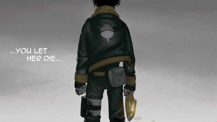 3840x1080 Hd Wallpapers Sad Quote Uchiha Obito Anime Blood Naruto Shippuuden Wallpapers