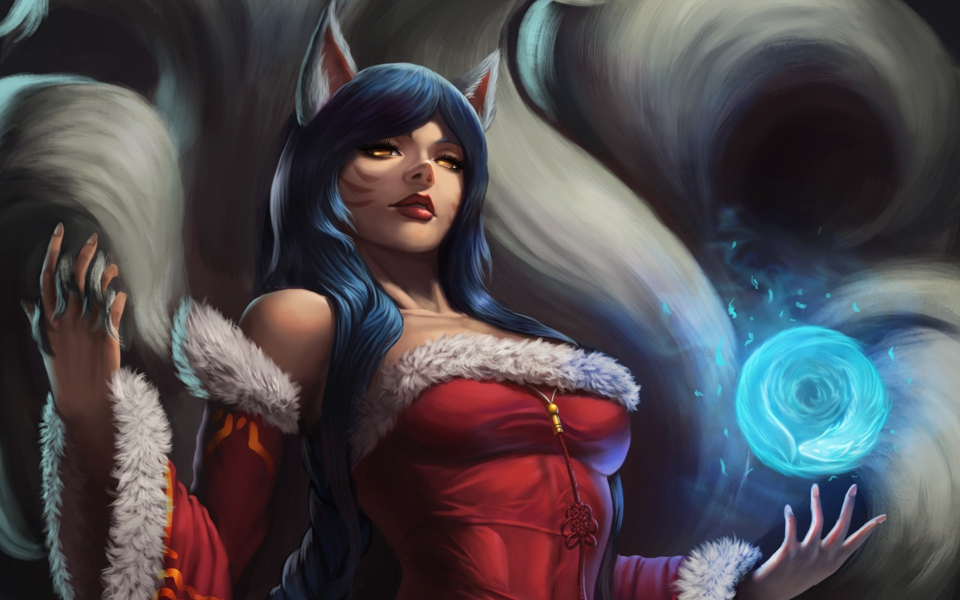 New 3d Hd Wallpapers For Pc Ahri League Of Legends Wallpapers Hd Desktop And Mobile