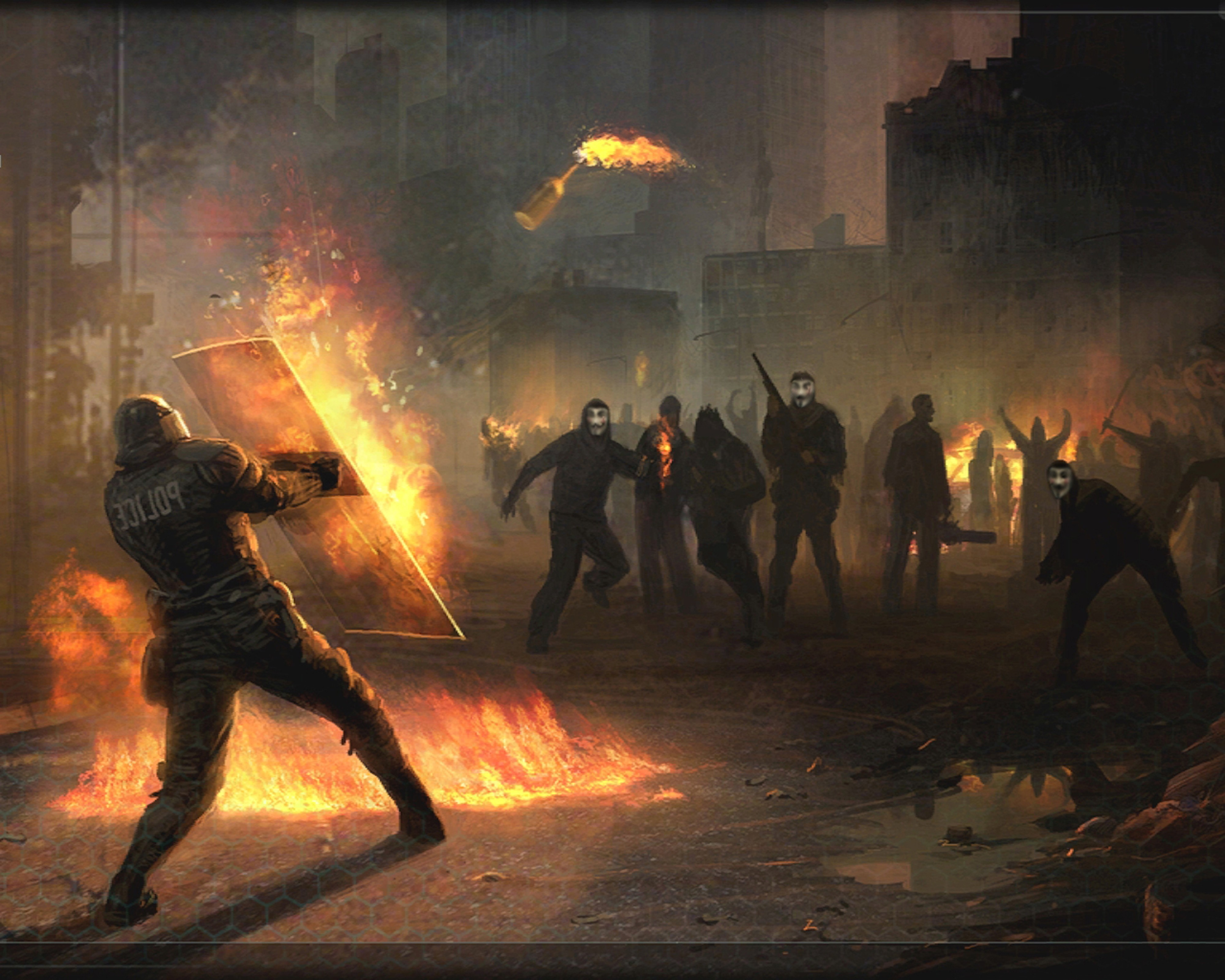 Anonymous Mask Wallpaper 3d Insurgency Rebellion Anonymous Molotov Wallpapers Hd