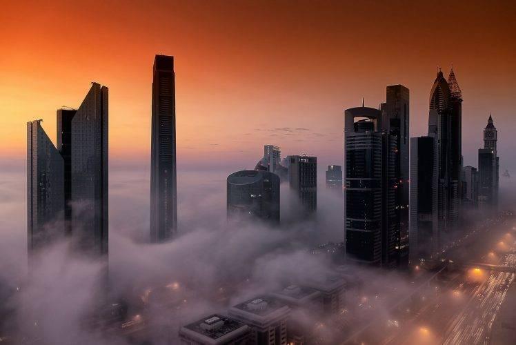 Emirates Wallpaper Hd Cityscape City Architecture Skyscraper Building Birds Eye