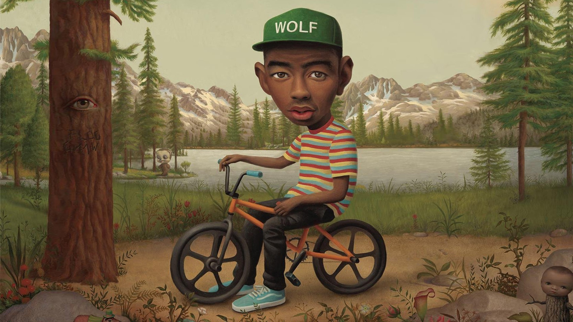3d Golf Wallpaper For The Home Hip Hop Tyler The Creator Caricature Wallpapers Hd
