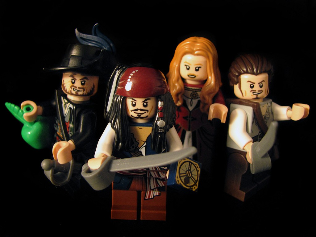 Pirates Of The Caribbean 3d Wallpapers Pirates Of The Caribbean Lego Jack Sparrow Toys Wallpapers