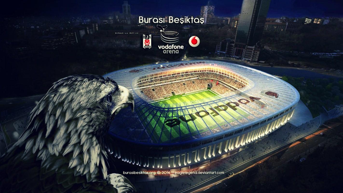 Popeye Wallpaper 3d Vodafone Arena Eagle Besiktas J K Istanbul Turkey