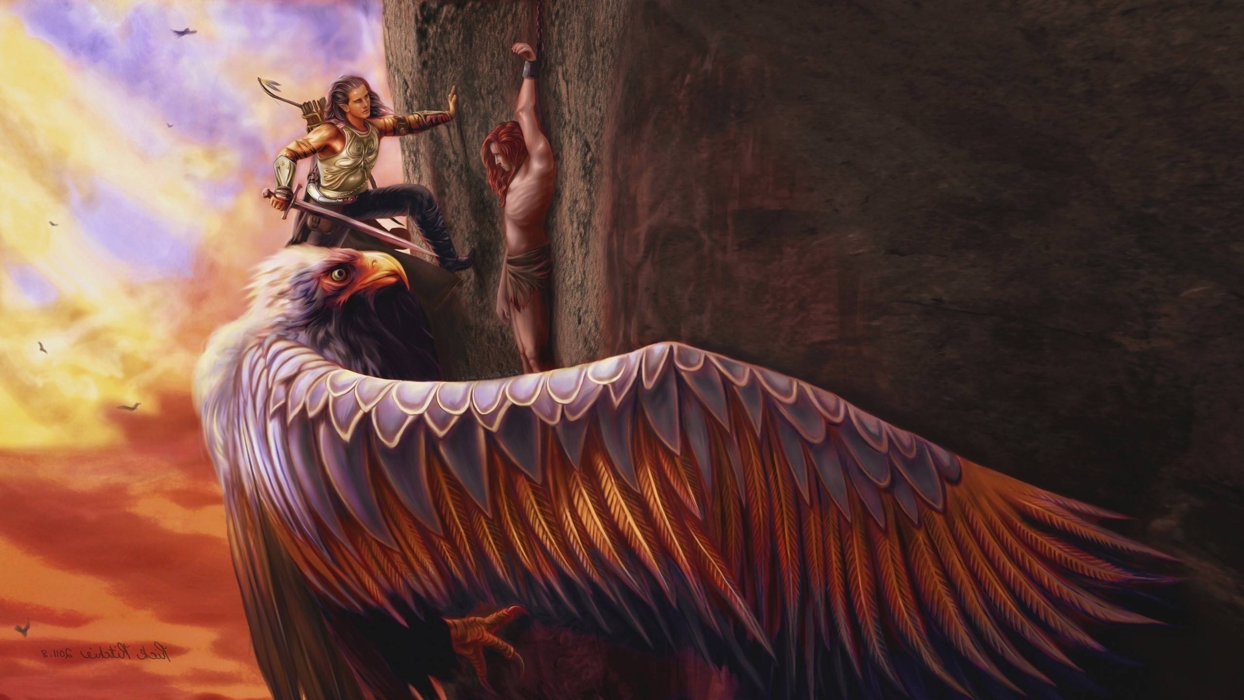 Occult Wallpapers Hd Mythology Eagle Fantasy Art Wallpapers Hd Desktop And