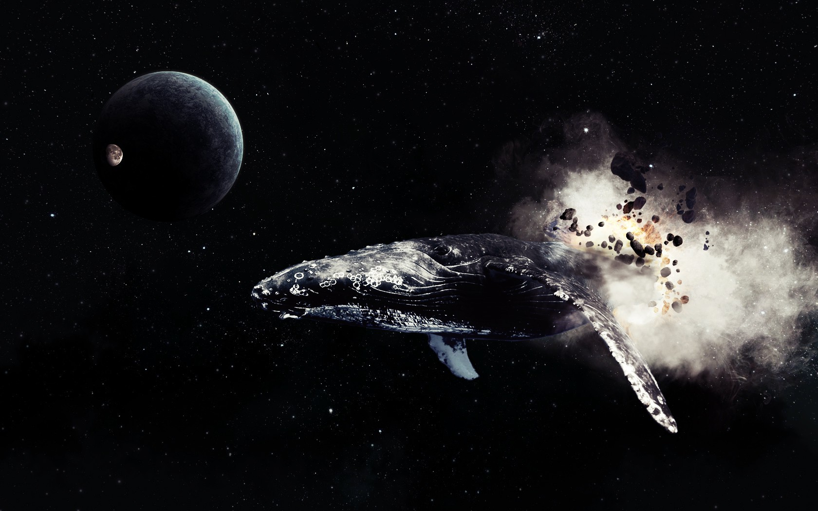 Hd Love Wallpapers For Mobile Free Download Space Stars Planet Moon Whale Comet Wallpapers Hd