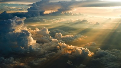 clouds, Sky, Sun rays Wallpapers HD / Desktop and Mobile Backgrounds