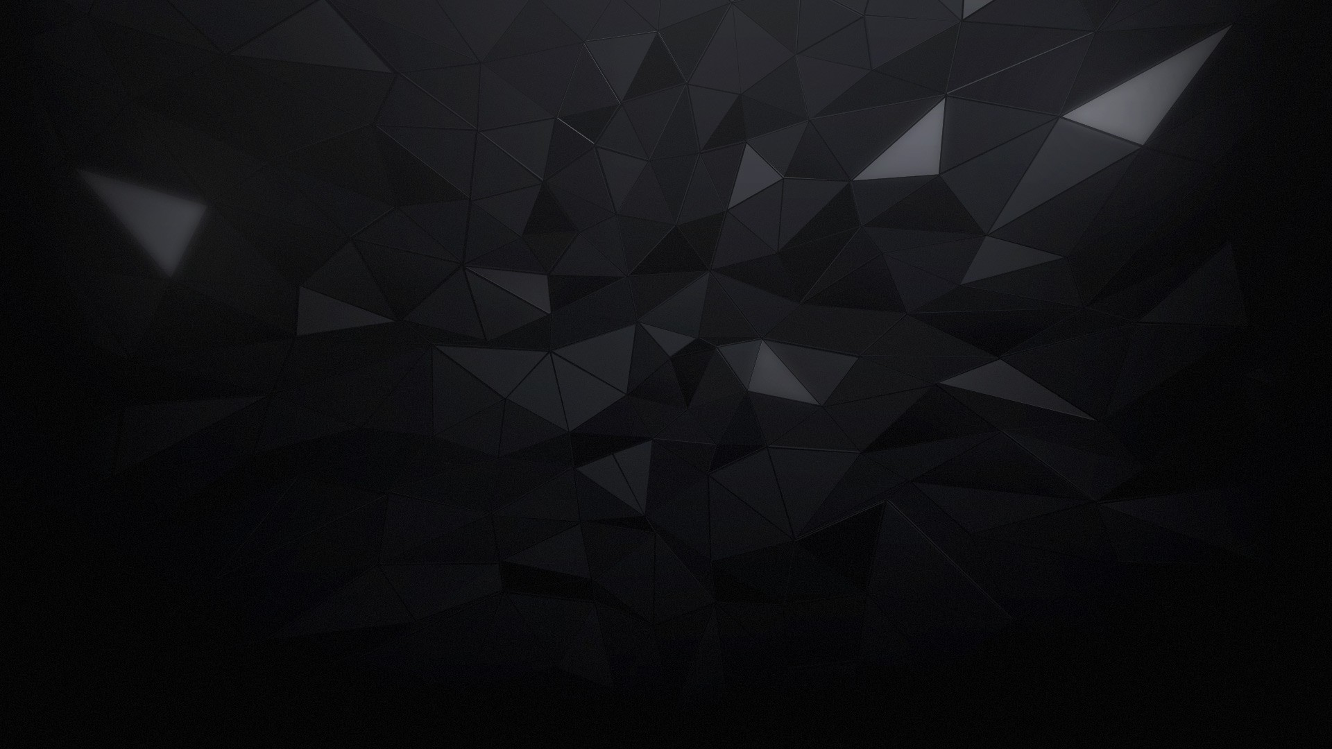 3d Liquid Abstract Wallpaper Minimalism Triangle Black Abstract Wallpapers Hd