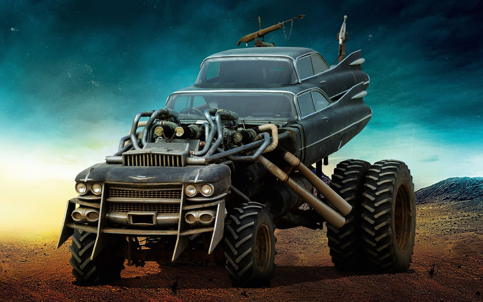 Retro Car Home Wallpaper Mad Max The Gigahorse Wallpapers Hd Desktop And Mobile