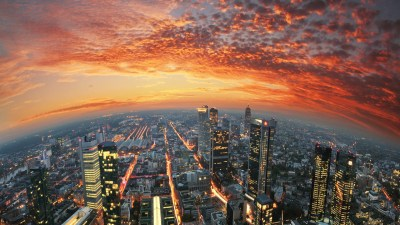city, Sky, Sunset, Frankfurt, Germany Wallpapers HD / Desktop and Mobile Backgrounds
