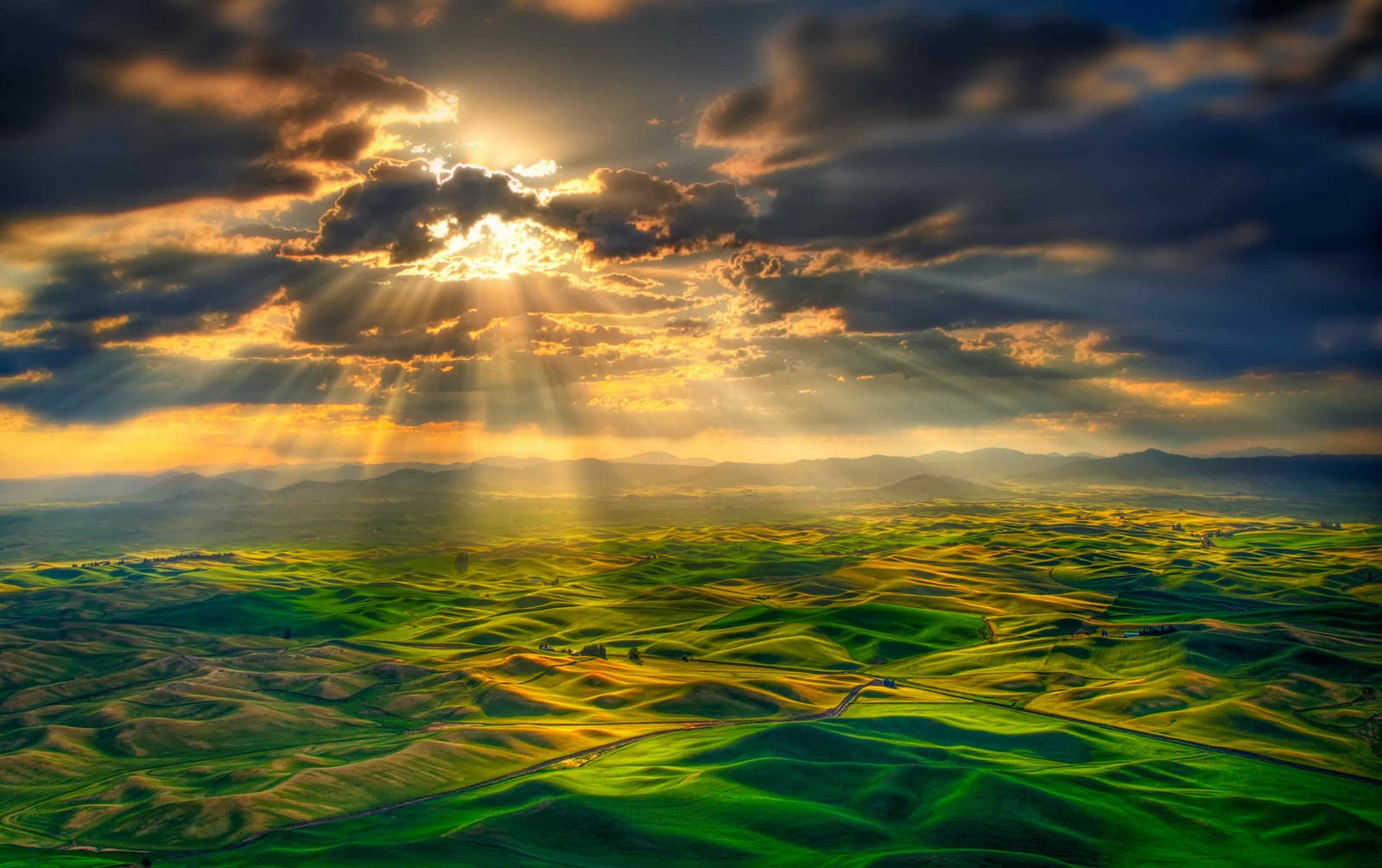 Anime Girls Wallpaper 4k Photography Nature Sun Rays Clouds Mountains Far View
