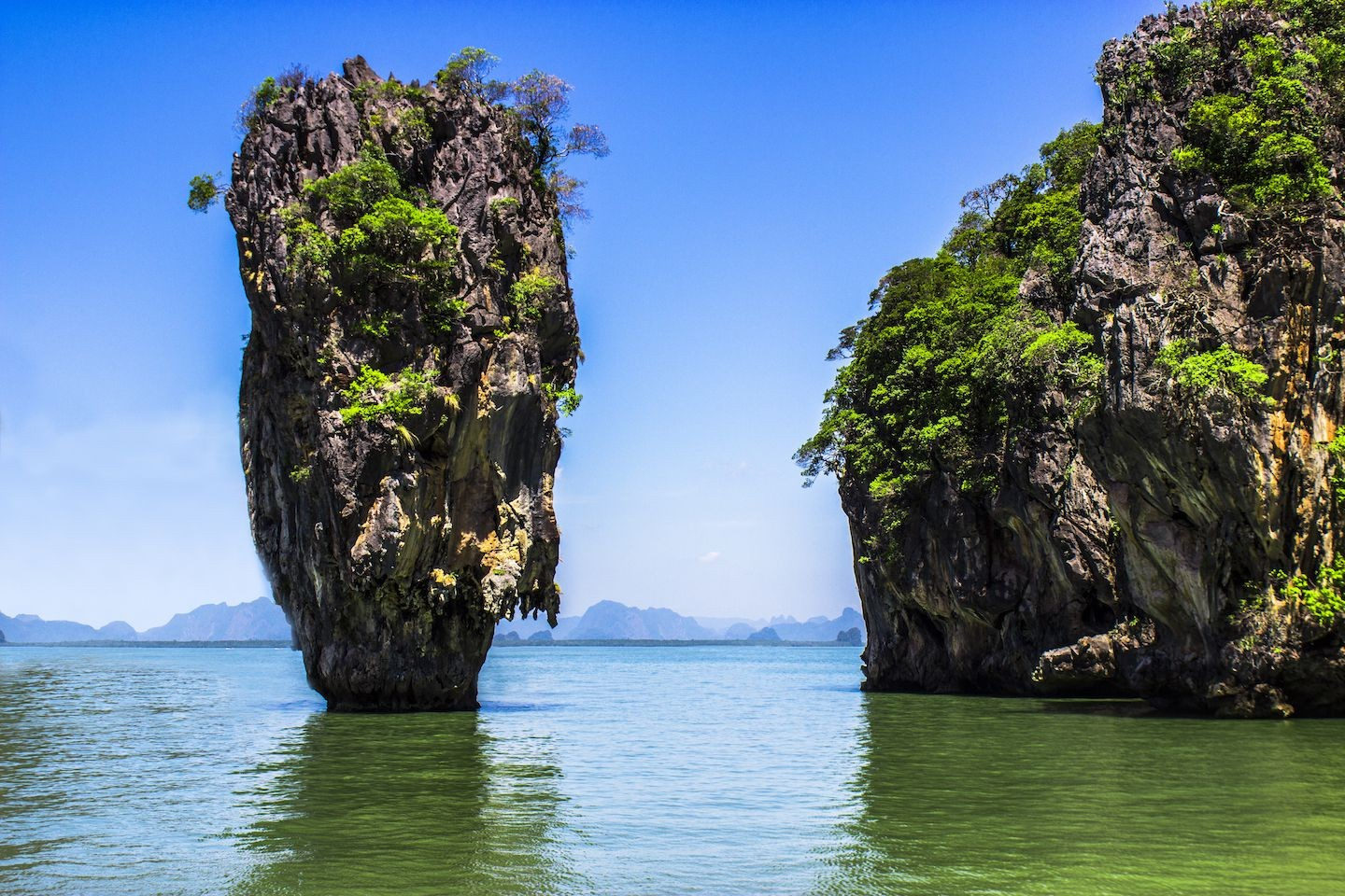 Geography Hd Wallpaper Thailand Thai Sea Sky Island Rock Water Wallpapers