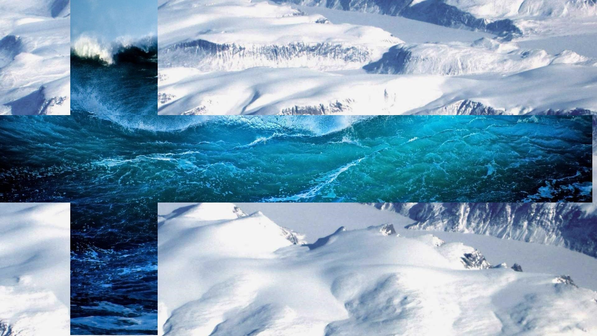 Uhd 3d Wallpaper Download Water Snow Finland Flag Mountains Sea Wallpapers Hd