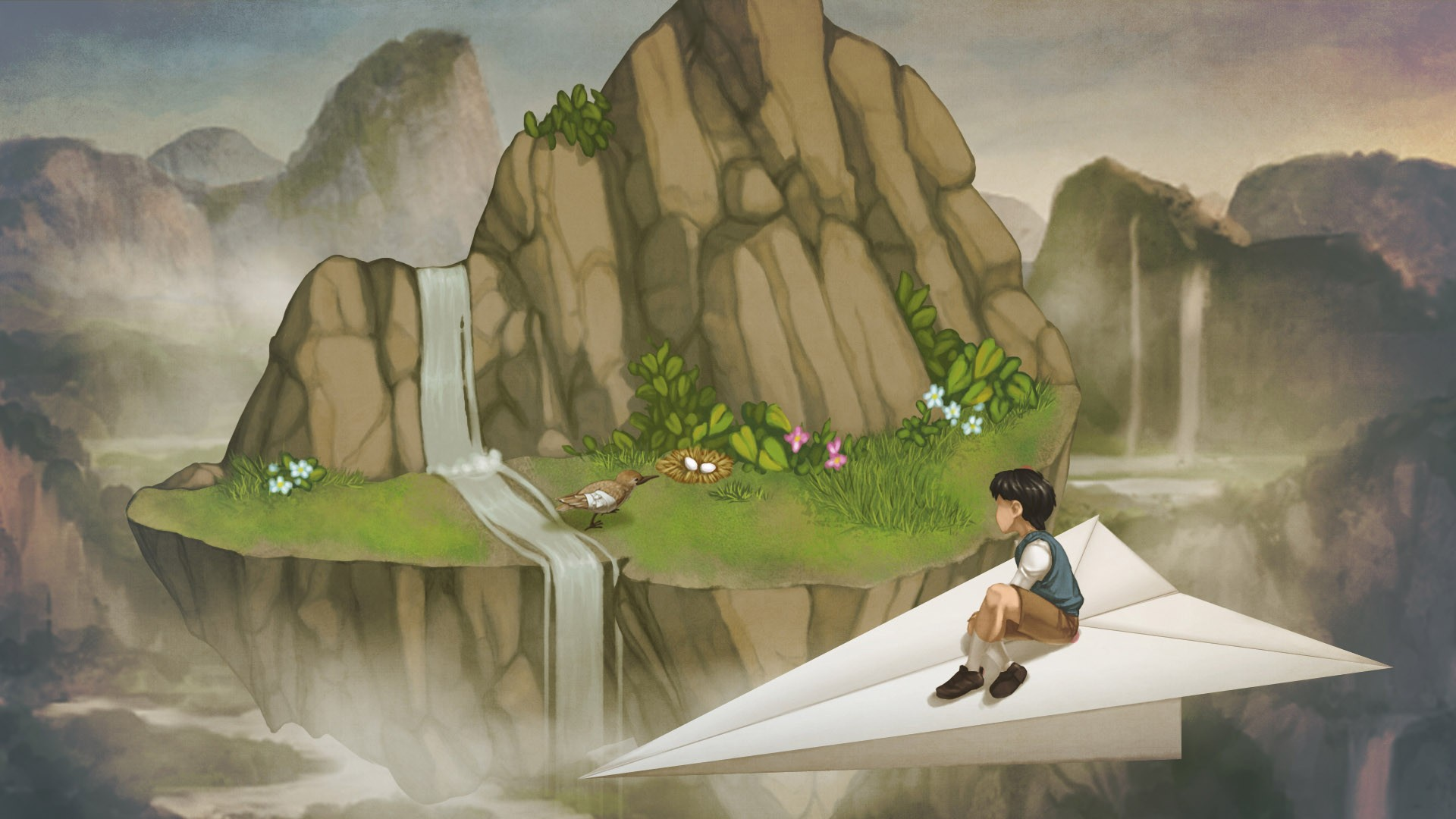 3d Love Wallpapers Download For Mobile Children A Bird Story Paper Planes Waterfall Eggs