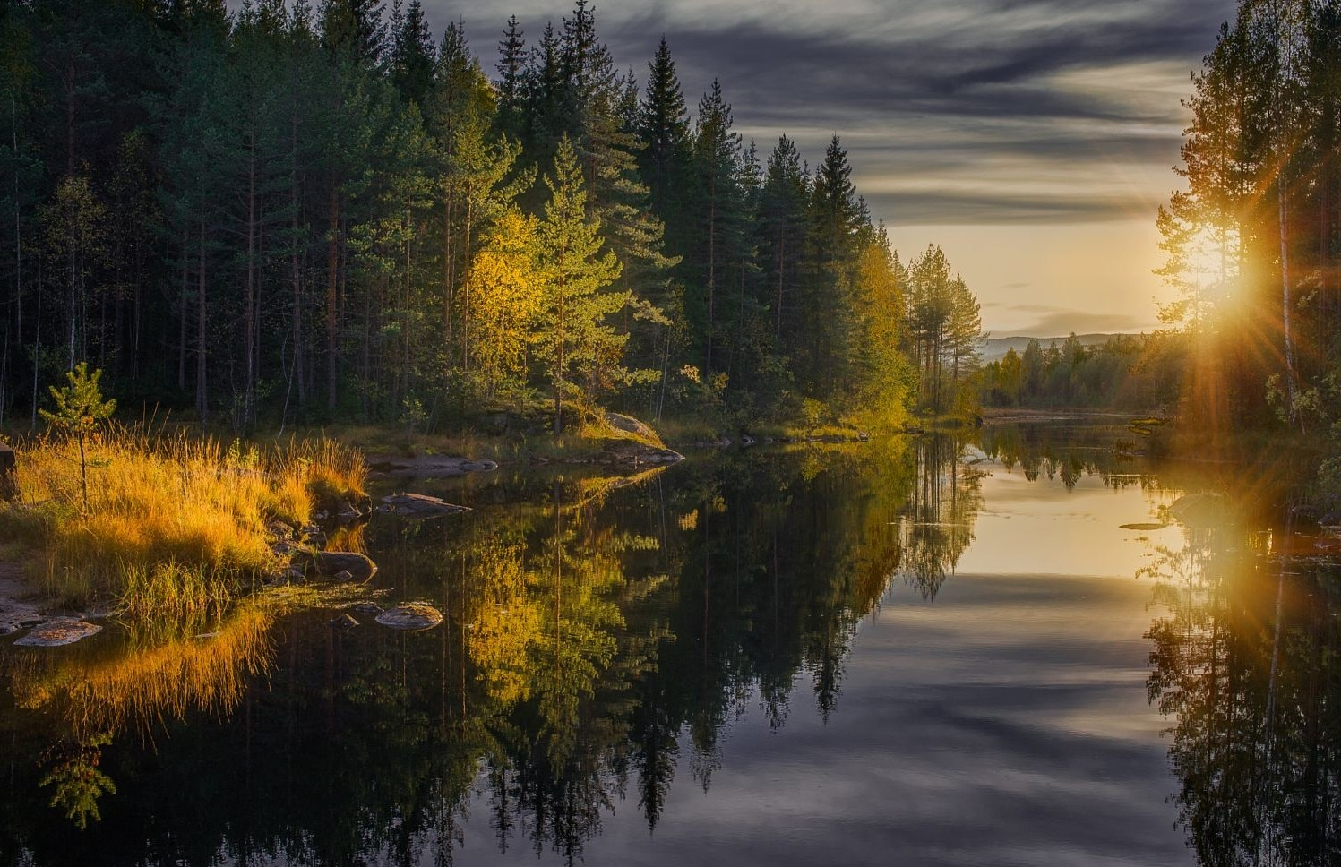 Fall In Maine Wallpaper Landscape Photography Nature Forest Fall River Calm
