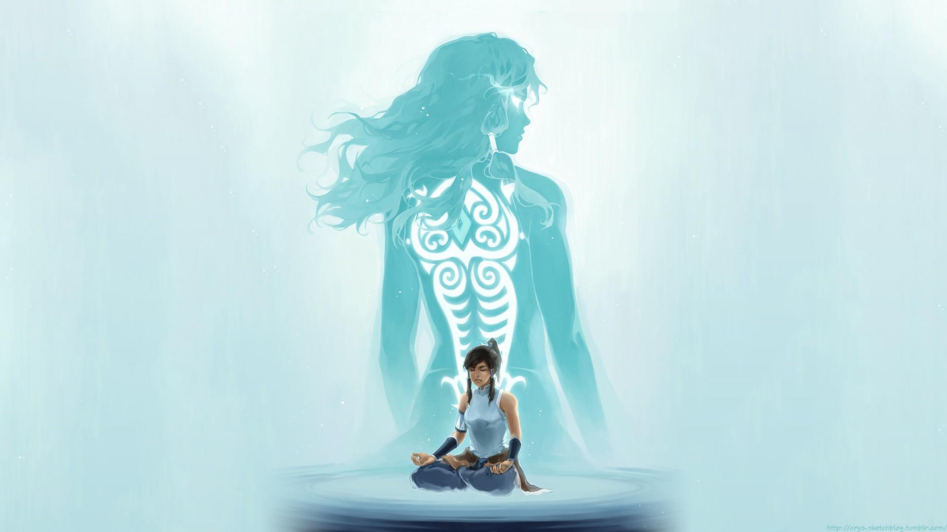 Avatar D Wallpaper Women Nature Landscape The Legend Of Korra Wallpapers