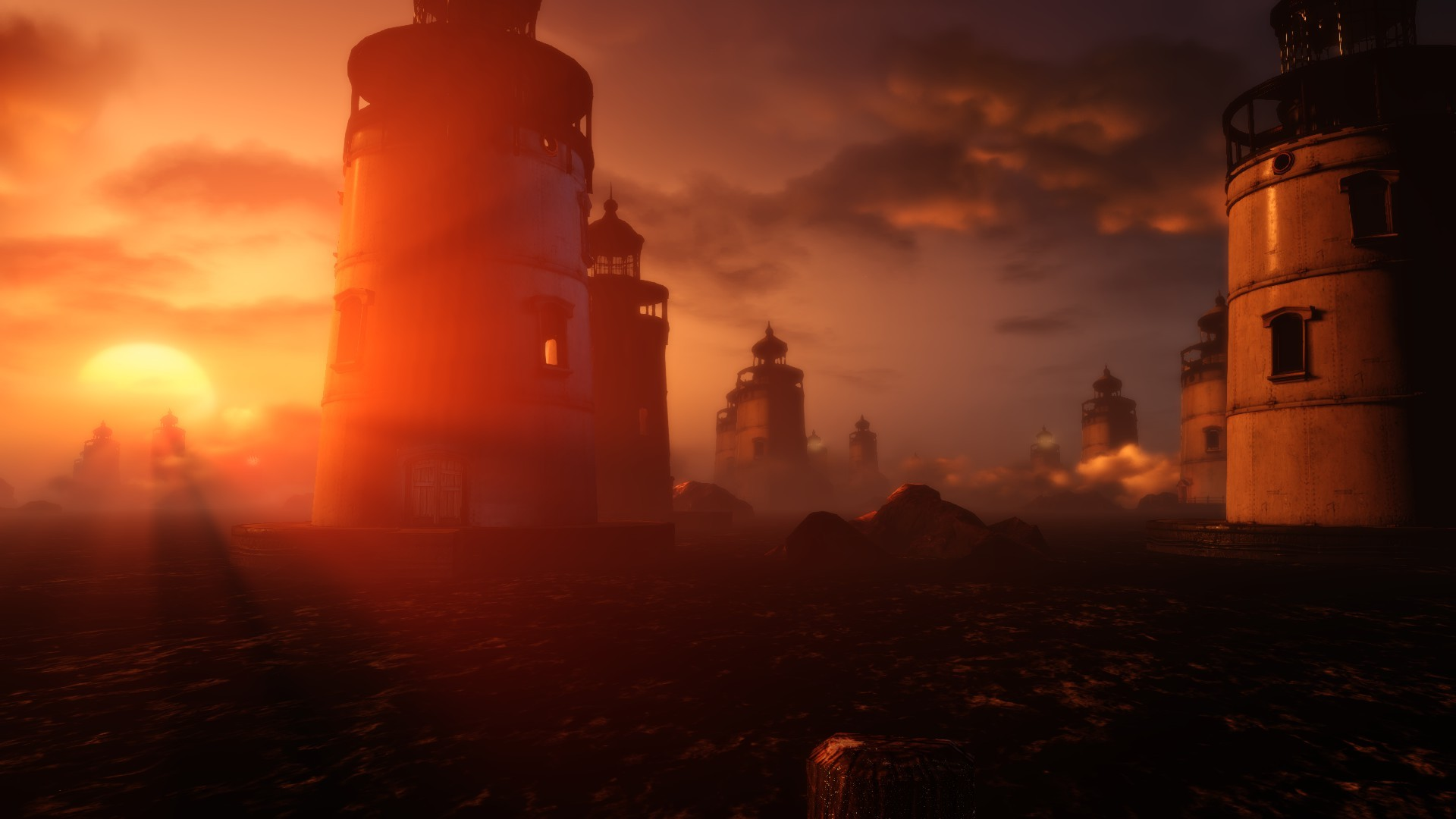 Prince Of Persia 3d Wallpaper Elizabeth Bioshock Sun Rays Bioshock Infinite Burial