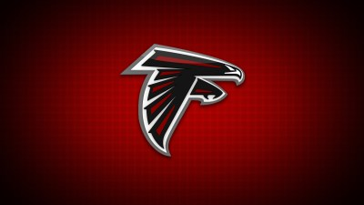 falcons, Atlanta Falcons, Logo, Red background, Minimalism Wallpapers HD / Desktop and Mobile ...
