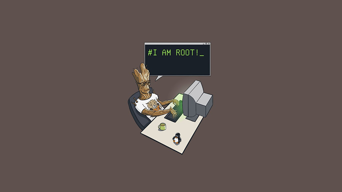 3d Wallpaper For Computer Gray Cats Groot Linux Root Guardians Of The Galaxy Vol 2