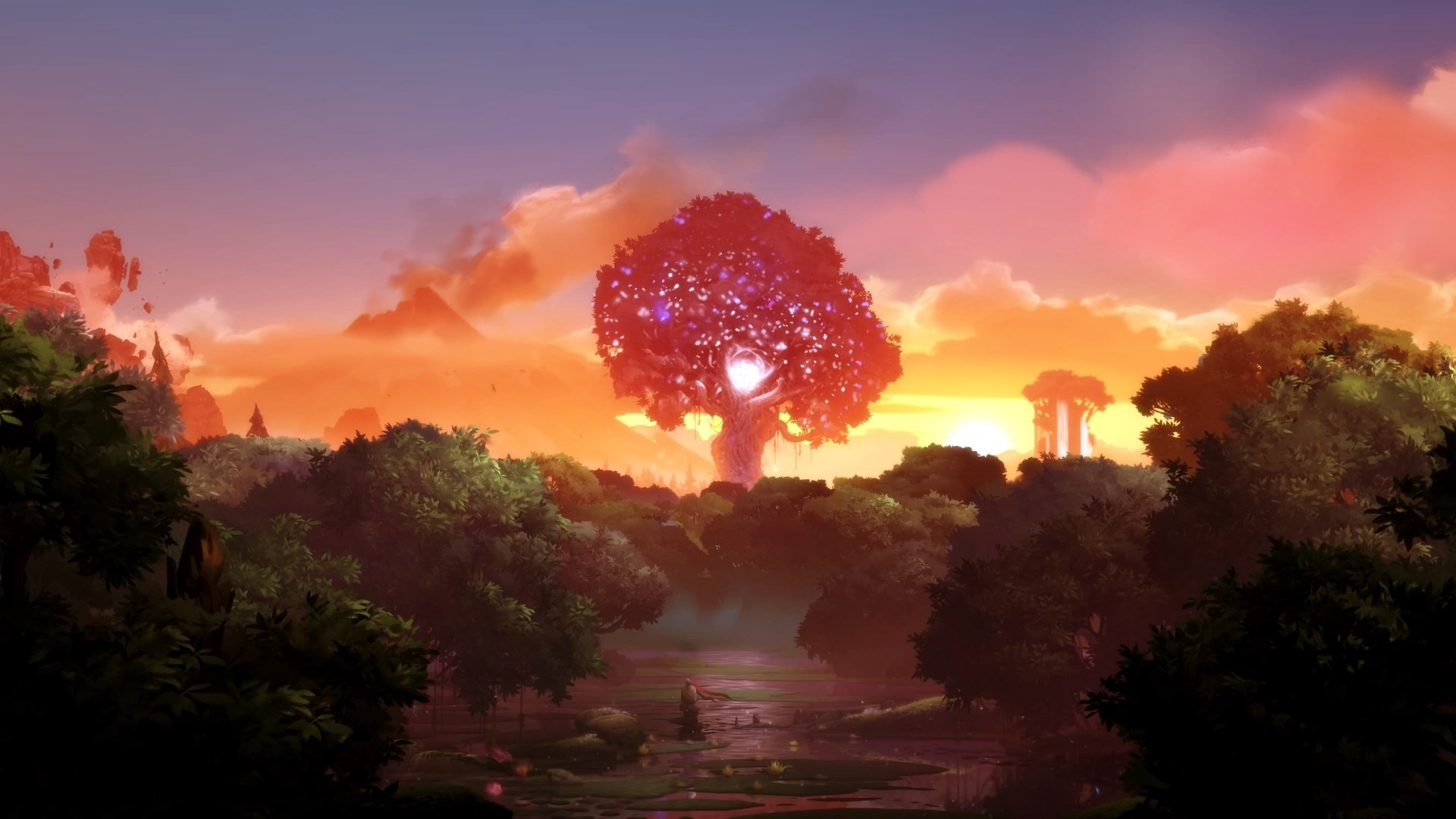 3d Forest Wallpaper Backgrounds Landscape Ori Ori And The Blind Forest Wallpapers Hd