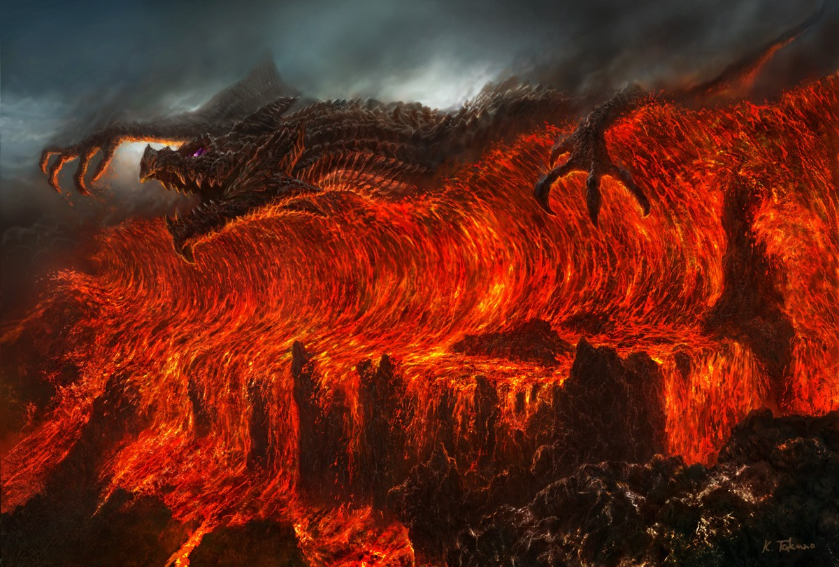 Fire Dragon Wallpapers 3d Dragon Lava Fire Wallpapers Hd Desktop And Mobile