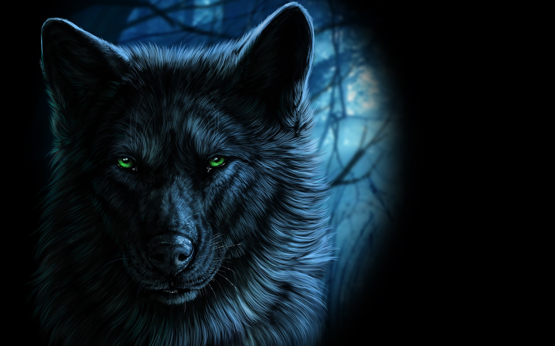 Tattoo Wolf Mond Wolf, Fantasy Art, Animals, Artwork Wallpapers Hd
