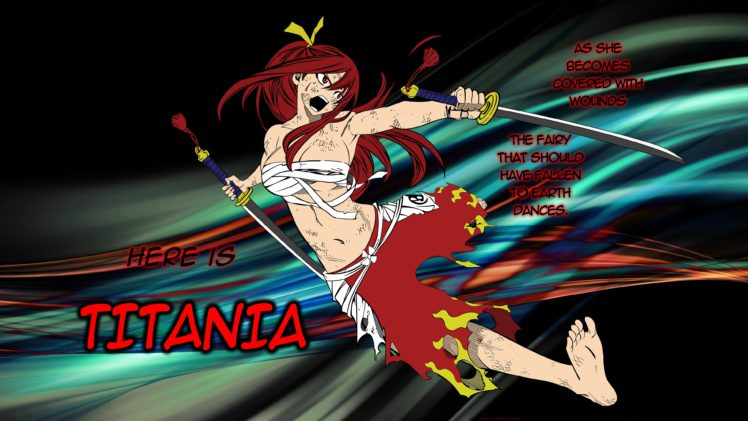 Fairy Tail Girls Wallpapers Fairy Tail Scarlet Erza Wallpapers Hd Desktop And