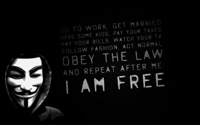 anonims, I am free Wallpapers HD / Desktop and Mobile Backgrounds