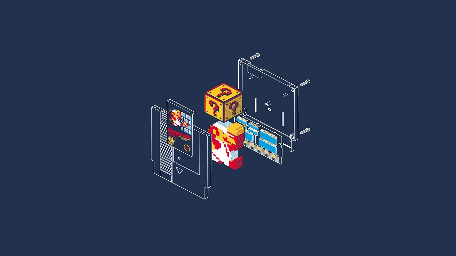 Cute Kingdom Hearts Wallpaper Super Mario Bros Minimalism Wallpapers Hd Desktop And