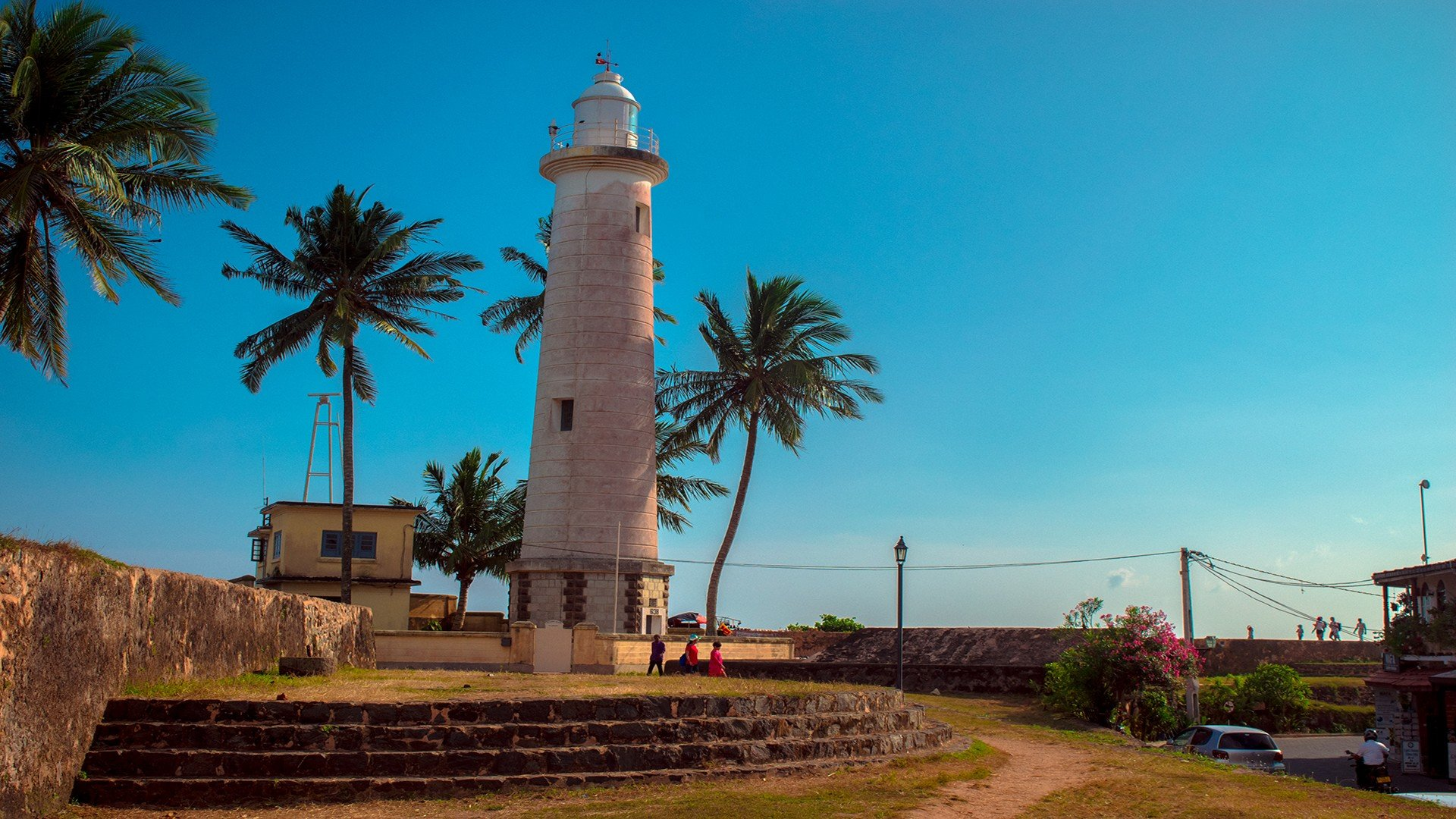 3d Wallpapers For Home Screen Sri Lanka Galle Galle Fort Lighthouse Wallpapers Hd