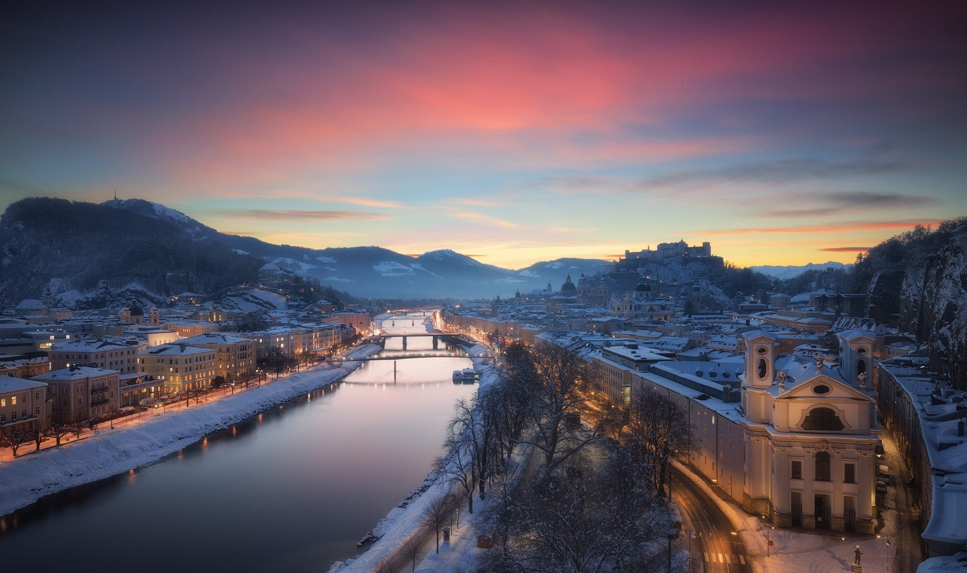 3d Wallpaper For Home Screen Salzburg Austria Wallpapers Hd Desktop And Mobile