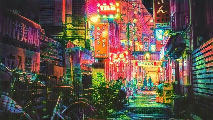 Hong Kong Iphone X Wallpaper Tokyo Filter Photography Wallpapers Hd Desktop And