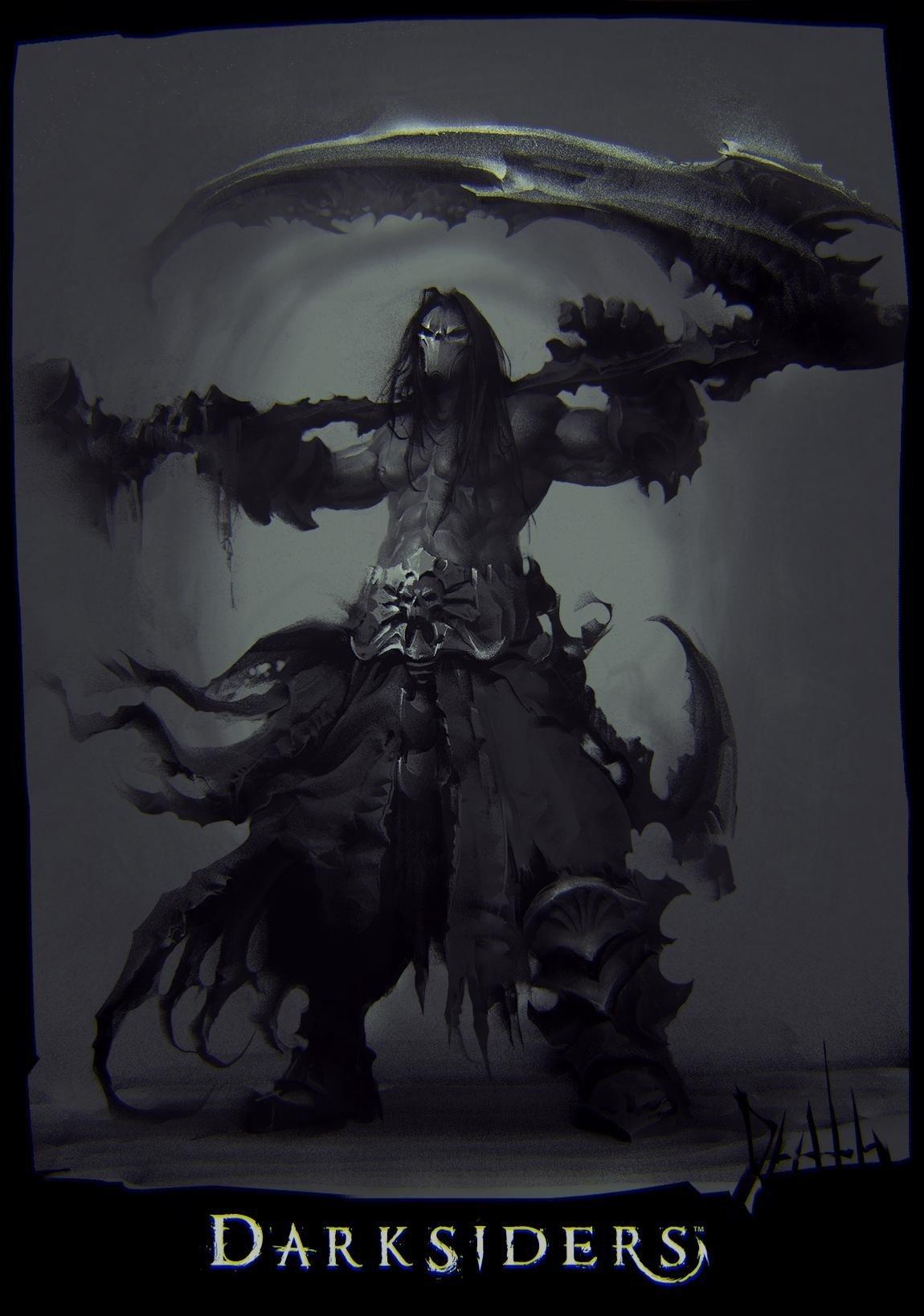 Arte 3d Wallpaper Price Darksiders War Death Four Horsemen Of The Apocalypse