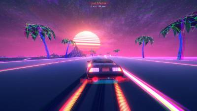 1980s, Vibes, Retro style, Outdrive, Video games Wallpapers HD / Desktop and Mobile Backgrounds