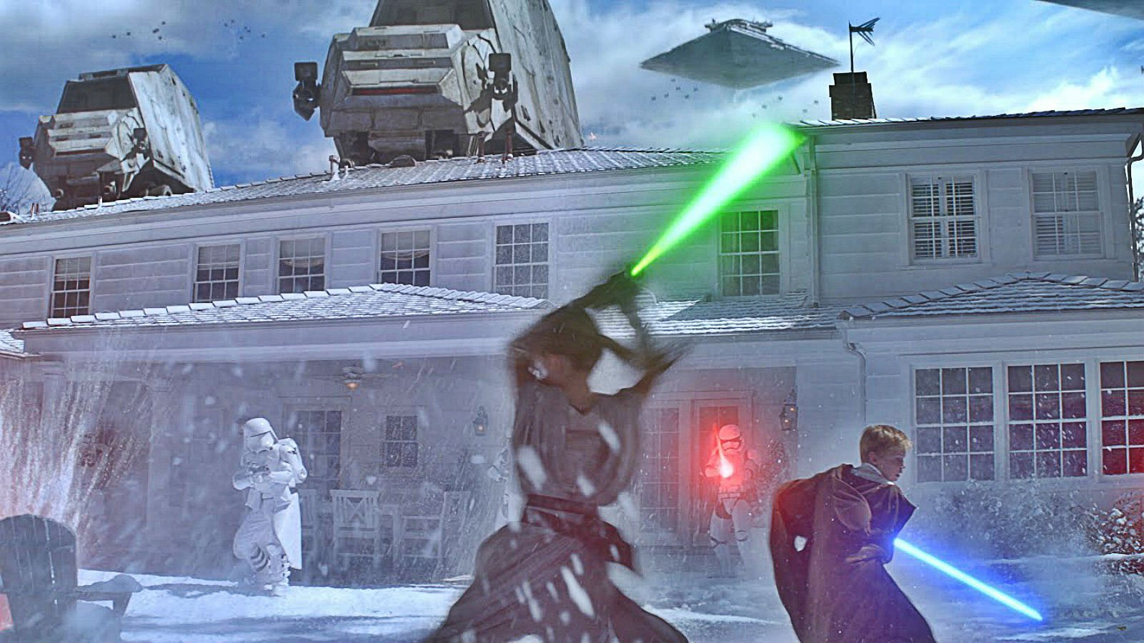 3d Action Game Wallpaper Star Wars Sci Fi Action Fighting Futuristic Series